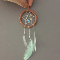 The Wanderer 3 ~ Small Dream Catcher Perfect for Car Mirrors!
