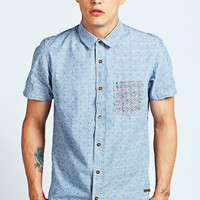 Short Sleeve All Over Printed Shirt