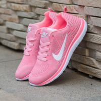"""NIKE"" Running shoes to help low soft bottom breathable sports and leisure shoes, special shoes treadmill"