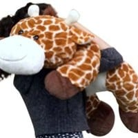 Big Stuffed Giraffe 36 Inches Big Plush Soft Quality Fun Plush Animal Toy