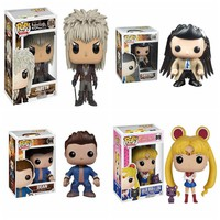 FUNKO POP PVC Model Doll Supernatural Dean Castiel Action Figure Toys with Wings Collectible Model Toys for Kids Brinquedos