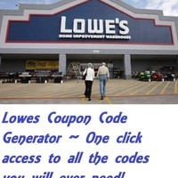 Lowes coupon generator NO Buying Lowes coupons codes on EBAY!