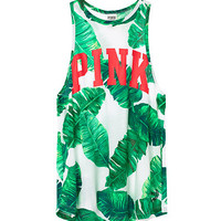 High Neck Tank - PINK - Victoria's Secret