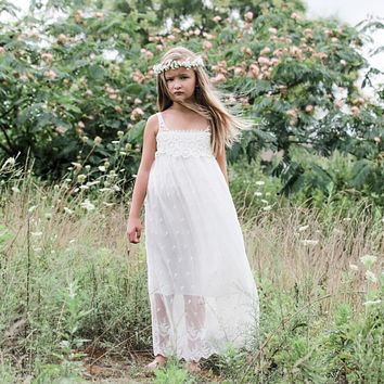 Willow, White Lace Dress
