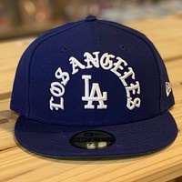Los Angeles Dodgers  Crest Logo 59Fifty Fitted
