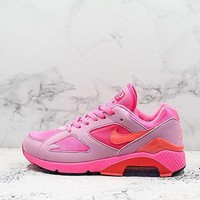 Comme Des Garcons X Nike Air Max 180 Cdg Pink/solar Red-pink Rise