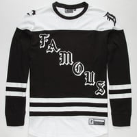 Famous Stars & Straps Goon Mens Jersey Black/White  In Sizes