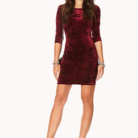 Enchanted Velveteen Dress