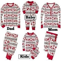 Christmas Hot Sale 2016 New Cartoon Kids Pajama Sets  Children Sleepwear Nightwear Family Christmas Pajamas Toddler Baby Pyjamas