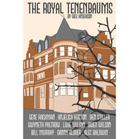 The Royal Tenenbaums 12x18 inches movie poster