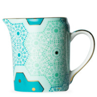 Moroccan Tealeidoscope Jewel Aqua Milk Jug - T2 EU | T2 Tea GB
