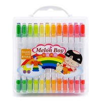 36pcs Watercolor Pen Marker Highlighter Colored Pen Stationery Markers School Students Art for Supplies for Drawing and Writing