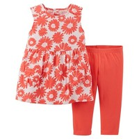 Just One You™Made by Carter's® Toddler Girls' 2 Piece Set - Peach