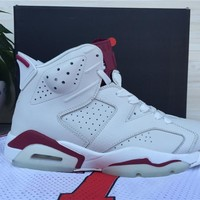 "Air Jordan 6 Retro ""Marron"" Basketball Sheos US5.5-13"