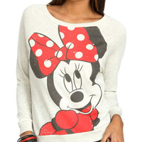 Minnie Bow Sweatshirt | Shop Junior Clothing at Wet Seal