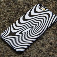 Minimalist Wave Stripes iPhone 6 iPhone 6 plus iPhone 5S 5iPhone 5CiPhone 4S/4 Samsung Galaxy S6 edge S6 S5 S4 Note 3 Case Black White 014