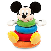 Mickey Mouse Plush Stacking Toy for Baby | Disney Store