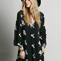 Free People Womens Embroidered Austin Dress
