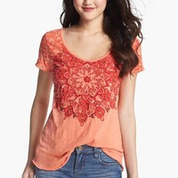 Lucky Brand 'Molina' Studded Graphic Tee | Nordstrom