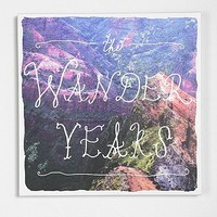 The Wander Years Wall Art - Urban Outfitters