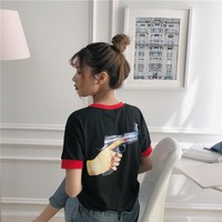 Ulzzang Dont Move T-shirt