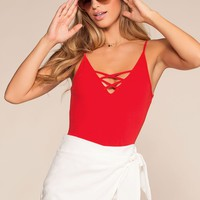 Set Free Bodysuit - Red