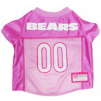 Chicago Bears Pink Jersey LG