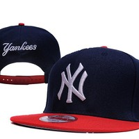Perfect MLB New York Yankees Snapback hats Women Men Embroidery Sports Sun Hat Baseball Cap Hat