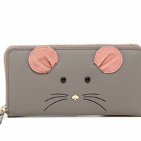 Kate Spade New York Lacey Mouse Leather Wallet