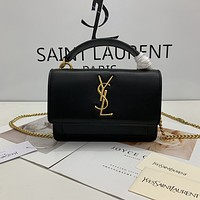 ysl women leather shoulder bags satchel tote bag handbag shopping leather tote crossbody 165