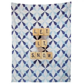 Happee Monkee Let It Snow Tapestry