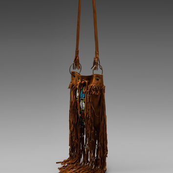 Spell & The Gypsy Collective The Coachella Tassel Bag in Tan