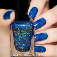 FUN Lacquer Blue Tears Nail Polish