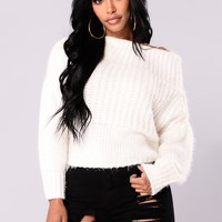 Sweet Like Coco Sweater - Ivory