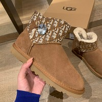 DIOR/UGG Drill thread Snow boots