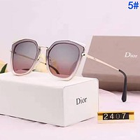 Dior Fashion Women Men Summer Sun Shades Eyeglasses Glasses Sunglasses 5#