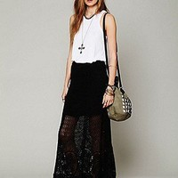Free People  Clothing Boutique > Mi Amore Maxi Skirt