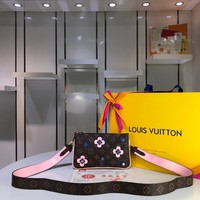 DCCK Lv Louis Vuitton Fashion Women Men Gb29611 M63905 Monogram Small Leather Goods All Collections Pochette Double Zip 20.5*3.5*12.5cm