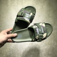"New Balance ""GreenCamo"" Slide Sandal"