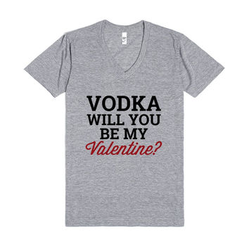 Vodka will you be my valentine?