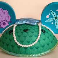 Disney Park Exclusive Ariel Little Mermaid Adult Ears Hat