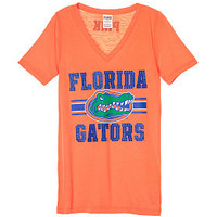 University of Florida Fitted V-neck Tee - PINK - Victoria's Secret