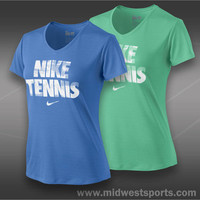 Nike Tennis Legend V-Neck Shirt