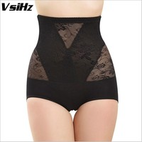 Women pulling underwear Sexy corset waist trainer for weight loss Lace Thin Shapers Underwear Bodysuit Girdles control panties