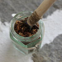Handmade Incense, ritual incense, incense scoop, wiccan magical powder, prospertity spell, incense for charcoal, gift set, yule gift idea