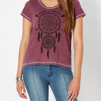 Dreamcatcher Burnout Tee
