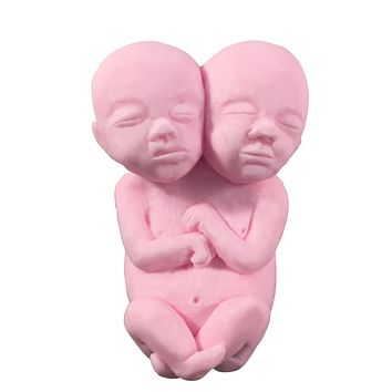 Siamese Twin Fetus Coconut Base Soap