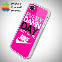 Every Damn Day Just Do It Nike Logo Pink by ArminArtDesign on Etsy