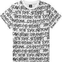 Stussy White Cities T-Shirt   HYPEBEAST Store. Shop Online for Men's Fashion, Streetwear, Sneakers, Accessories