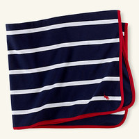 Rugby-Striped Blanket